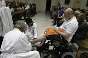 Quinta-Feira Santa Missa Do Lava-Pés Dia 18 04 2019 Créditos Hilário e Solange