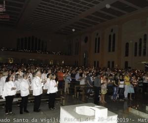 Sábado Santo da Vigília Pascal dia 20 04 2019 Créditos Hilário e Solange