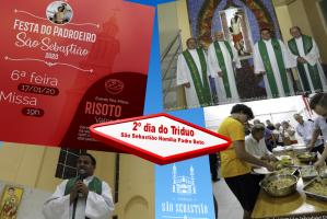 2º dia do Tríduo Festa Padroeiro São Sebastião 2020 Pe Beto