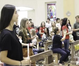 Missa do retiro da Crisma Dia 23-11-2019 Fotos PASCOM  Créditos: Helo