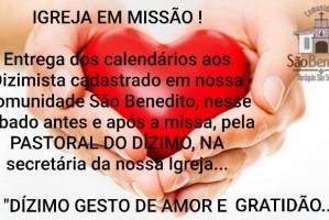 DIZIMO GESTO DE AMOR E GRATIDÃO