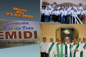 EMIDI - Escola Ministerial Diocesana dia 23-01-2020 - Missa de encerramento e entrega do CERTIFICADO