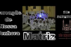 Coroação de Nossa Senhora dia 31 05 2019 Créditos Hilário e Solange