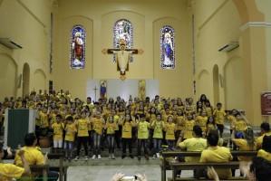 Fotos 8 Encontro Girassol dia 9 e 10 de Novembro de 2019 Paróquia São Sebastião Créditos  Solange e Hilário