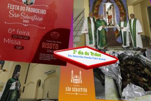3º dia do Tríduo Festa Padroeiro São Sebastião 2020 Pe Diomar